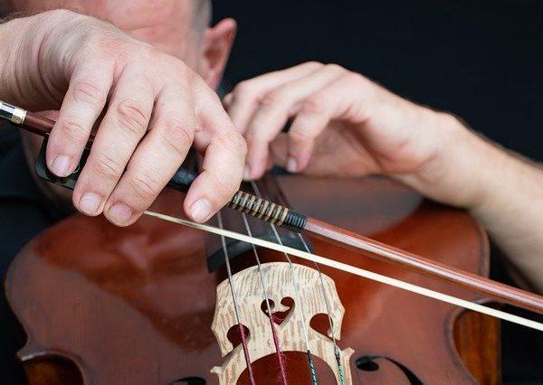 Recording Studio Cello Bow Cellist  - Ri_Ya / Pixabay
