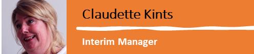 Interview: Claudette Staat Stukken Steviger Als Interim Manager